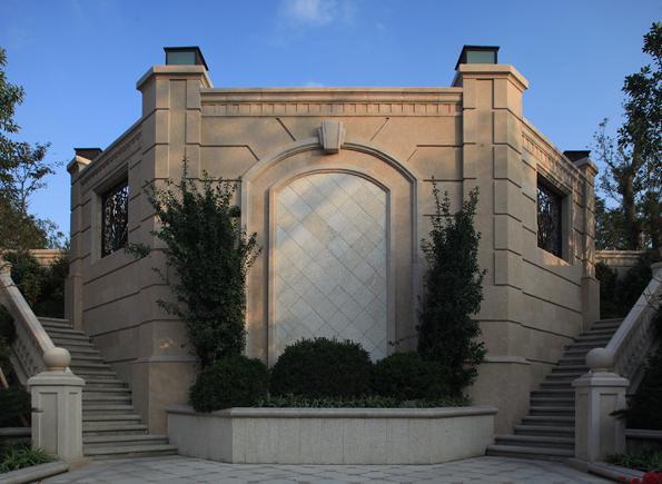 某欧式风格公馆会所建筑设计su模型[原创]