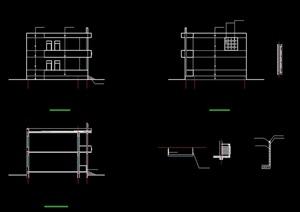 教学楼多层建筑cad方案