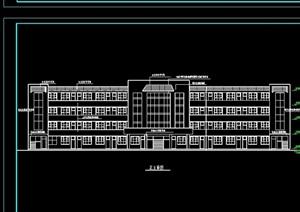 小学教学楼建cad施工图