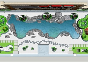 南通工厂景观设计jpg效果图