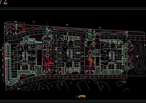 都市风华住宅详细景观cad施工图