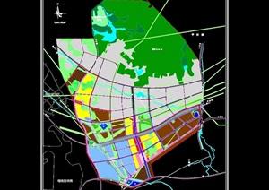 某产业园土地利用规划设计cad方案