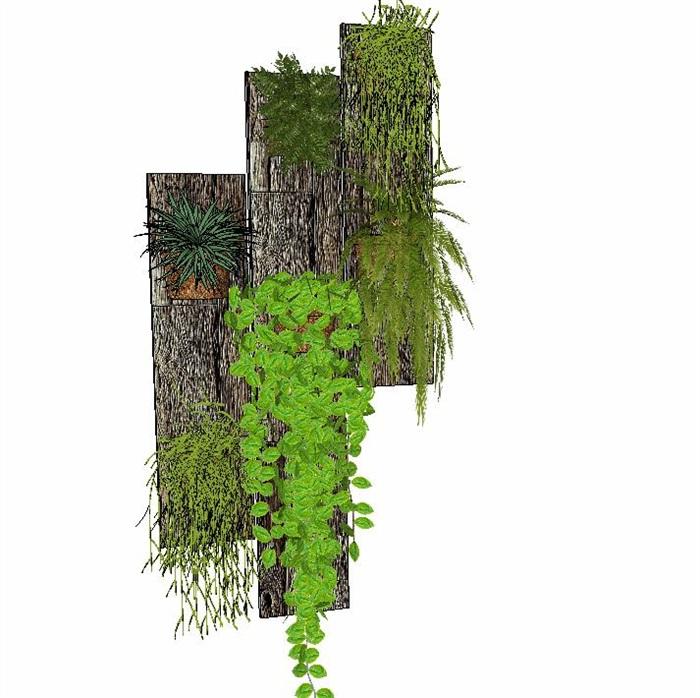 室内盆栽花架植物墙艺术花卉(5)