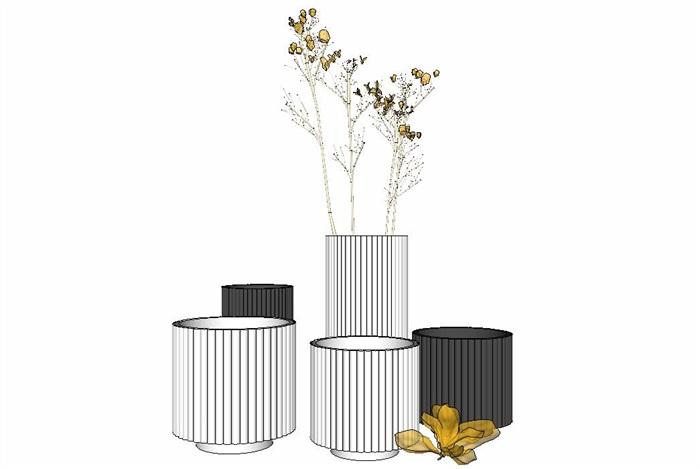 室内盆栽花架植物墙艺术花卉(7)