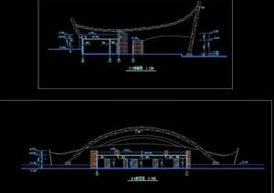 深圳某文化中心建筑设计方案