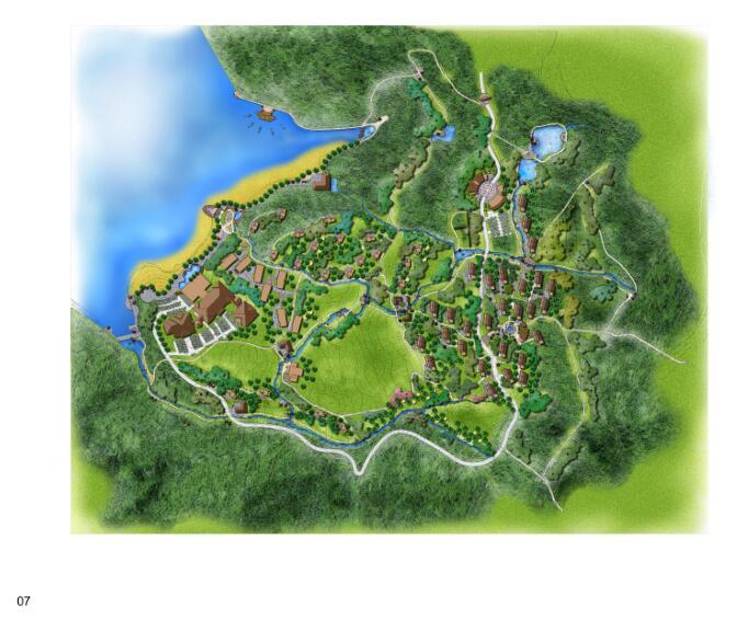 21套生态农业观光旅游休闲田园综合体规划pdf,cad方案