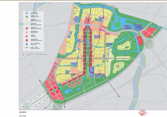 南京红花大校场飞机场区域城市概念规划pdf方案