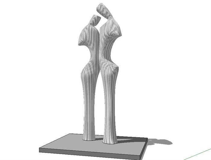 122个创意构架雕塑景观小品(5)