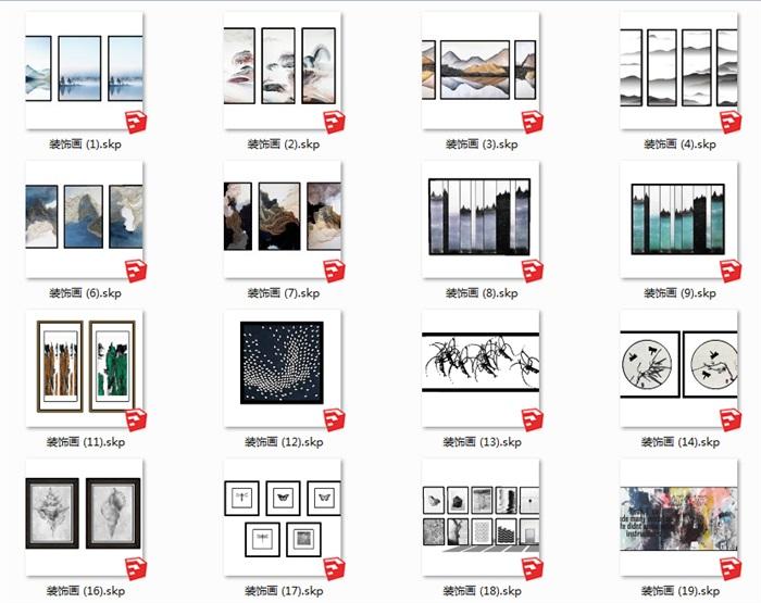 112个室内装饰壁画(1)