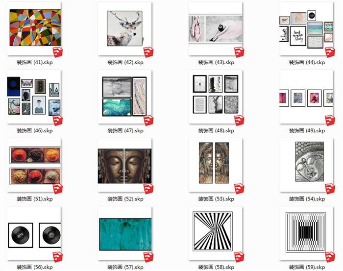112个室内装饰壁画(2)