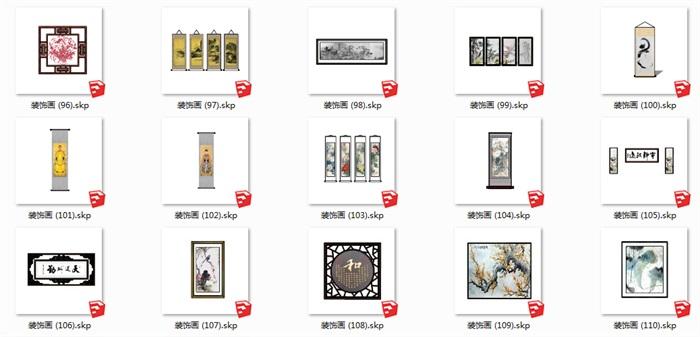 112个室内装饰壁画(3)