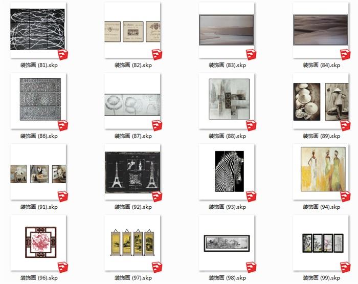 112个室内装饰壁画(5)