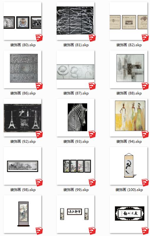 112个室内装饰壁画(7)