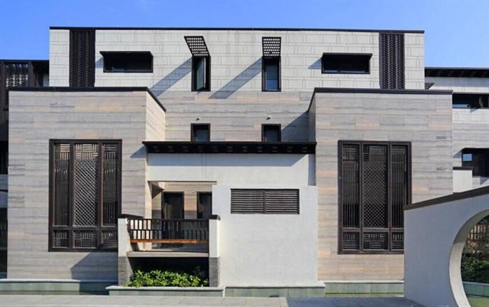 上海模型别墅观园别墅海域建筑su绿地[原创]厅理念宽小区图片