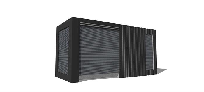 电变箱详细设计su模型