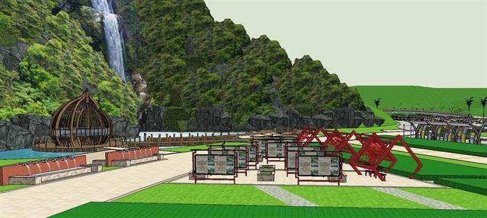 生态旅游乡村农业展示田园综合体(12)
