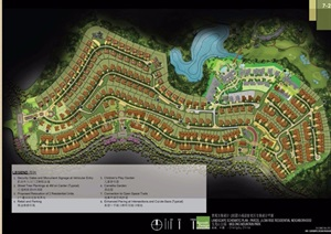 某欧式风格住宅景观pdf方案