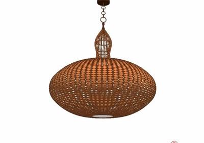 某現代風格獨特經典詳細的吊燈素材su模型