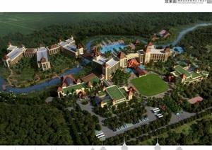 云南西双版纳噶洒度假酒店方案设计pdf方案