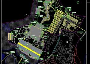 白鹤滩公园景观详细设计cad施工图