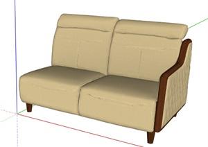 现代风格组合素材设计SU(草图大师)模型