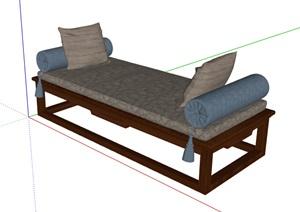 现代风格独特室内沙发坐素材设计SU(草图大师)模型