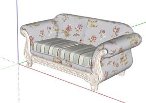 欧式风格室内装饰沙发设计SU(草图大师)模型