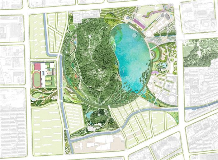 蘇州獅山公園古典風格景觀設計JPG方案