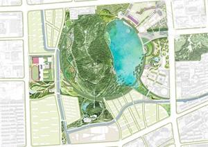 苏州狮山公园古典风格景观设计JPG方案