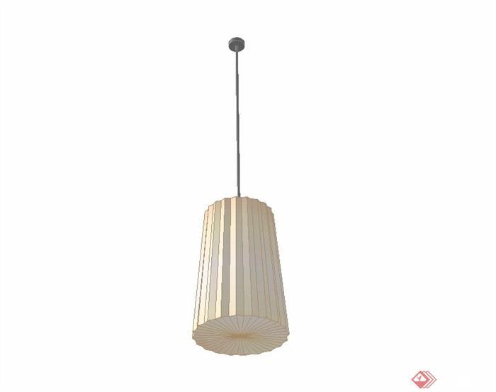 吊灯顶灯简单素材设计su模型[原创]