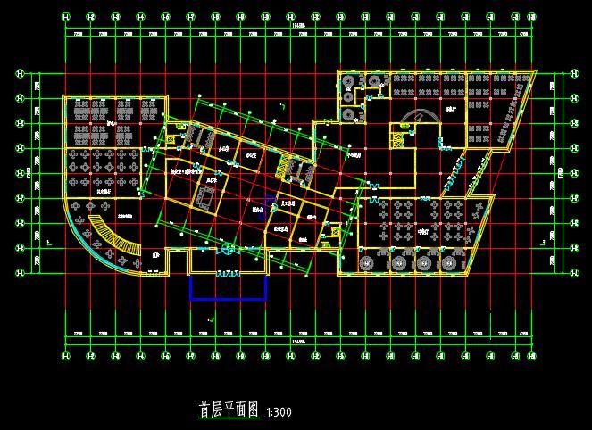 二十一层酒店建筑方案图(含CAD图+PSD效果图+su模型+排版JPG)-约53400平(3)