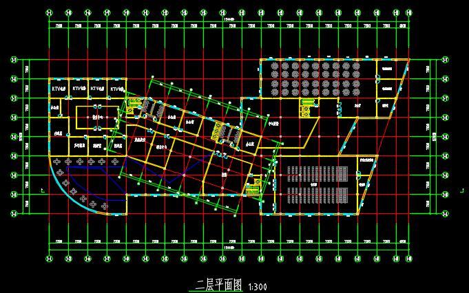 二十一层酒店建筑方案图(含CAD图+PSD效果图+su模型+排版JPG)-约53400平(4)