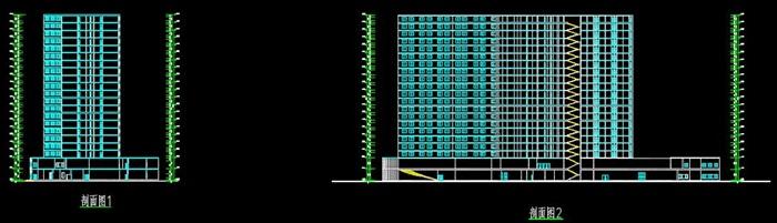 二十一层酒店建筑方案图(含CAD图+PSD效果图+su模型+排版JPG)-约53400平(8)