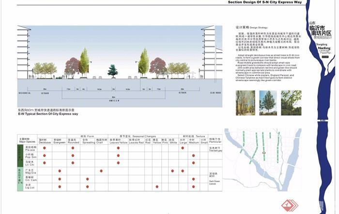 某临沂南坊景观片区规划设计jpg方案[绘制]unity原创四边形图片