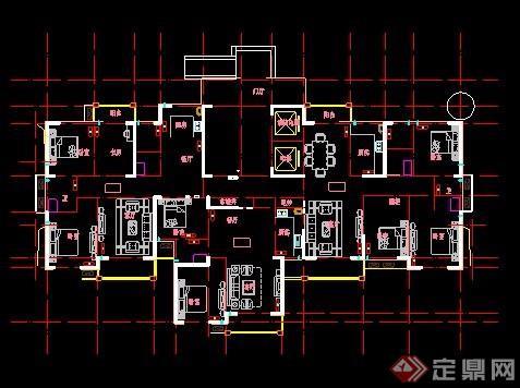 某高层住宅楼建筑设计图纸[原创]