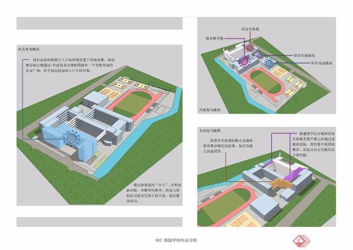 某现代中学小学整体规划设计方案