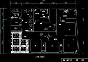 清水家园展厅详细设计cad方案