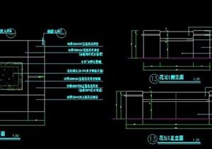 矩形花坛设计方案图