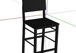 某现代坐凳素材设计SU(草图大师)模型