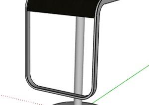 某升降坐凳设计SU(草图大师)模型