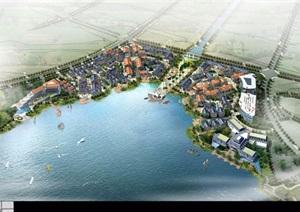 某工业园区北部服务区青剑湖湖滨新天地规划设计pdf方案