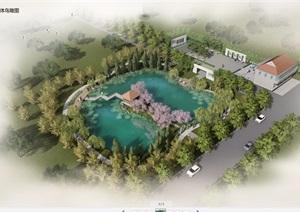 文化公园详细景观设计psd效果图