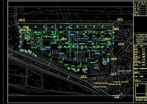 杭州生物医药创业基地设计cad方案