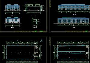 温岭电镀工业园详细建筑设计cad方案