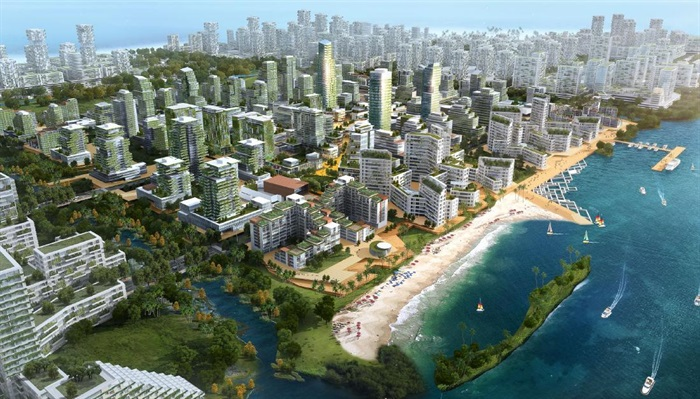 马来西亚森林城市城市设计(2)