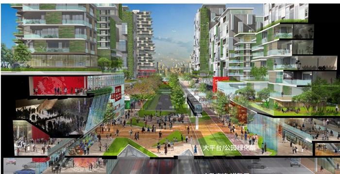 马来西亚森林城市城市设计(5)