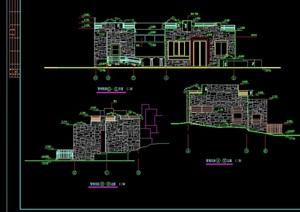 1层绿地管理用房及公厕cad施工