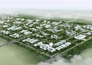 城市详细规划设计psd效果图
