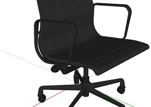 某现代办公椅座椅设计SU(草图大师)模型