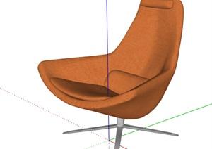 简约风座椅家具设计SU(草图大师)模型